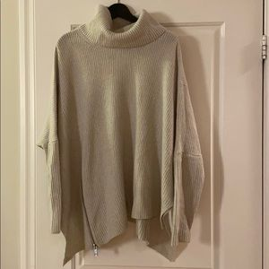All Saints cowl neck wool sweater size M